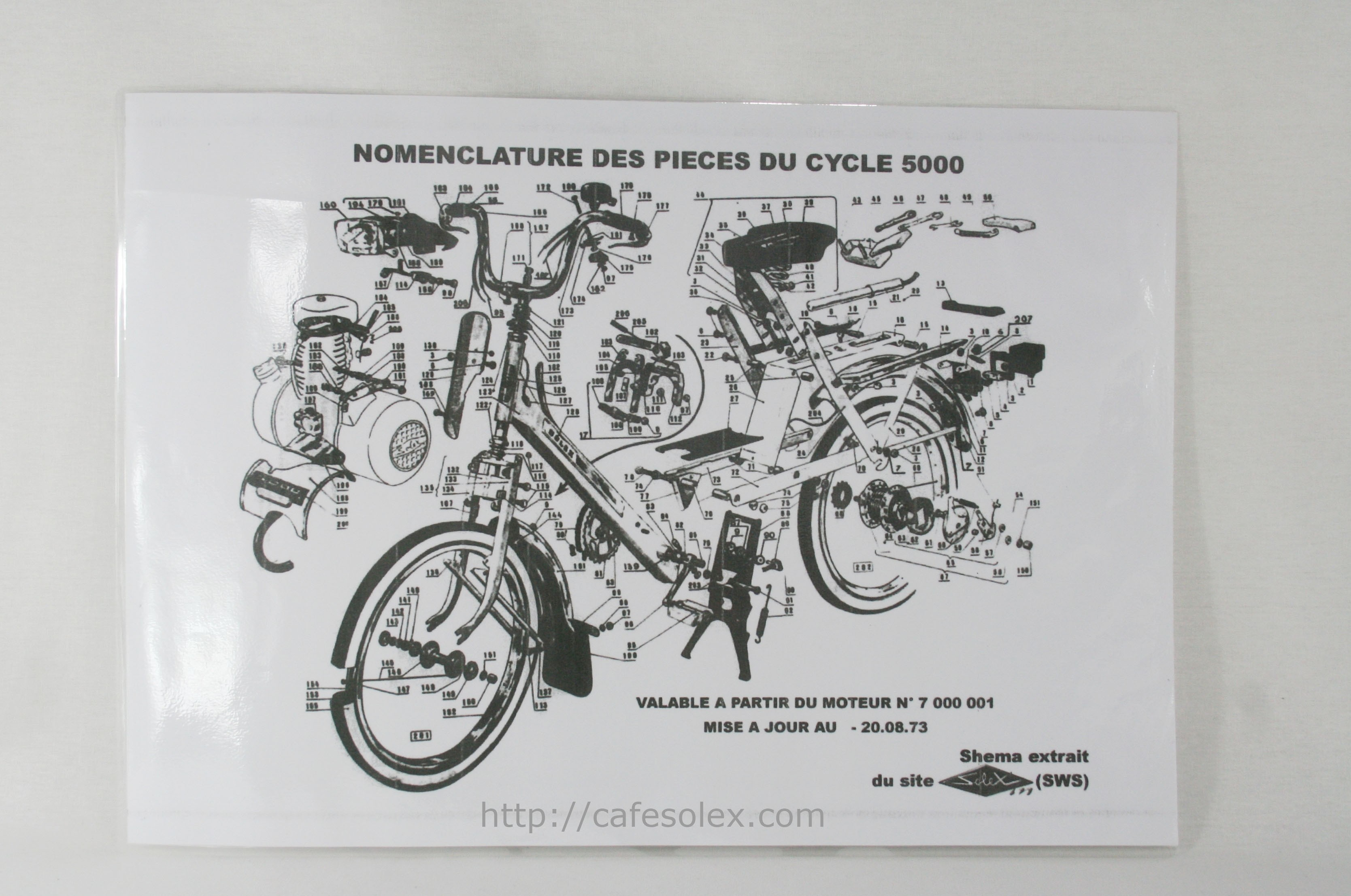 Eclate Cycle Solex 5000 Chez Cafesolex