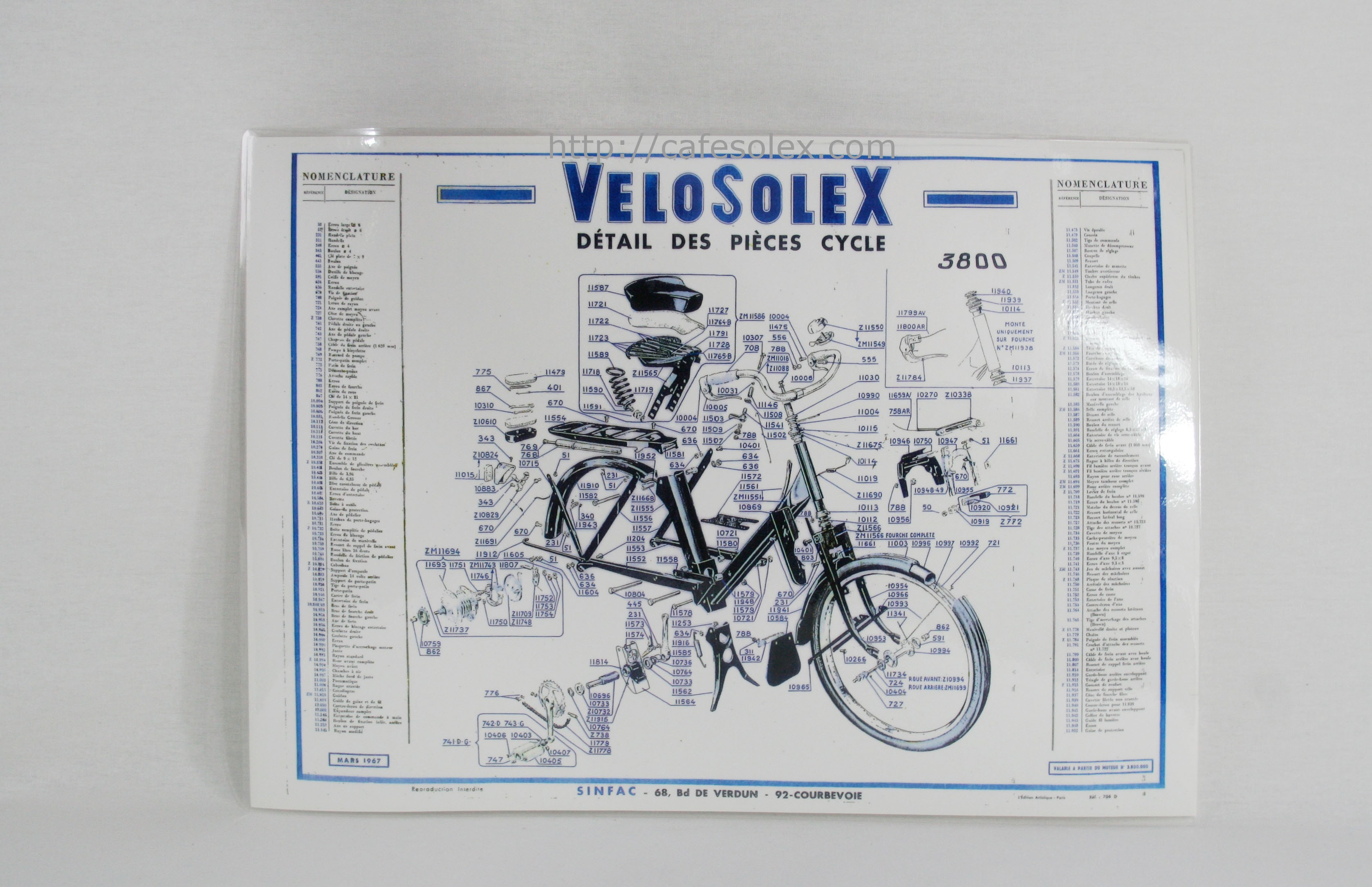 Eclate Cycle Solex 3800