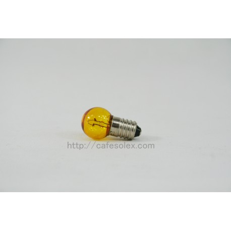 Yellow bulb before Solex