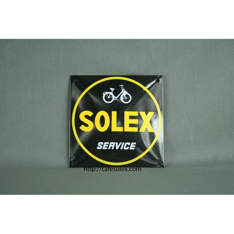 plaque de d coration maill e solex service. Black Bedroom Furniture Sets. Home Design Ideas