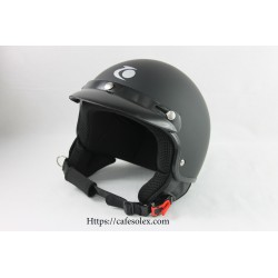 Helmet Black Bowl Approved